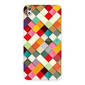 Delighted Color Ribbons Back Case Cover for HTC Desire 816