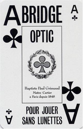 Bridge optic. coffret 2 jeux 54 cartes ducale