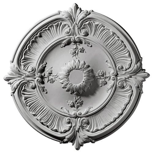Ekena Millwork CM30AT 30 1/8-Inch OD Attica Acanthus Leaf Ceiling Medallion