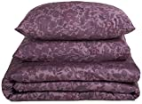 Calvin Klein Home Somerset Duvet Set, Queen, Violet