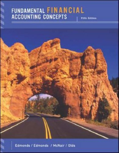 Fundamental Financial Accounting Concepts w/Annual Report, Thomas Edmonds, Frances McNair, Philip Olds