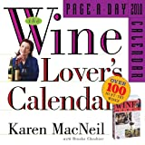 The Wine Lovers Page-A-Day Calendar 2010 (Page-A-Day Calendars)