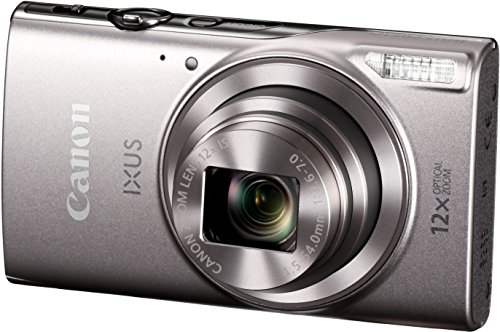 Canon-IXUS-285-HS-Digital-Camera-Silver-with-8GB-Memory-Card-and-Camera-Case