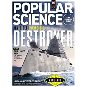 Buy Popular Science (1-year auto-renewal)