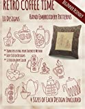 img - for Retro Coffee Time Hand Embroidery Patterns book / textbook / text book