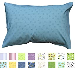 YOUTH PILLOWCASE - 100% Percale Cotton - 200 Thread Count - Regular/Open End Style - Fits 16\