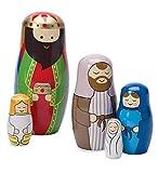 Nativity Nesting Dolls, set of 5