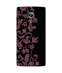 Pink Doodle Alcatel One Touch Flash 2 Case