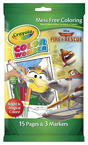 Crayola Color Wonder MINI Disney planes fire & Rescue