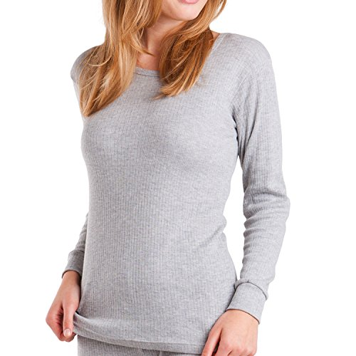 Original MT® Damen Thermo Langarmhemd – warm, weich und atmungsaktiv – 3 Farben zur Auswahl – von celodoro