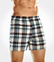 Fruit of the Loom Men's 3pk Low Rise Tartan Boxers