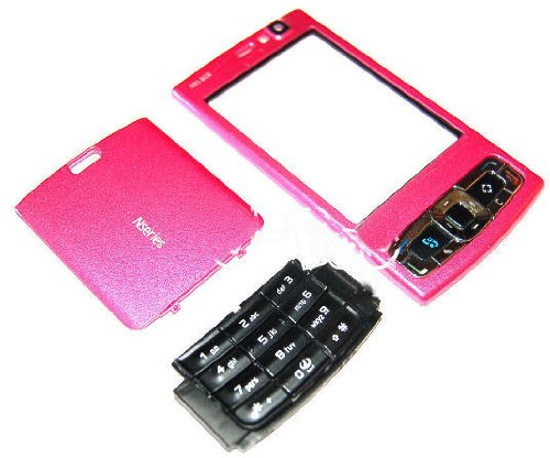 U-Bop Housing Fascia Kit for Nokia N95 8GB (Eight Gigabyte) , Pink