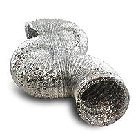 VenTech VT DUCT-6 VTD625 Aluminum Duct for Ventilation Ducting, 6'' by VenTech