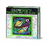 Great Gizmos 4M Easy-To-Do Glow Space Window Mosaic Art