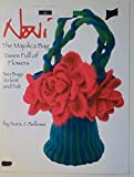 img - for The Majolica Bag Vases Full of Flowers Craft Pattern book / textbook / text book