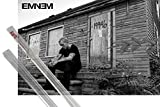 Poster + Hanger: Eminem Poster (36x24 inches) The Marshall Mathers LP 2 and 1 set of 1art1® Poster Hangers