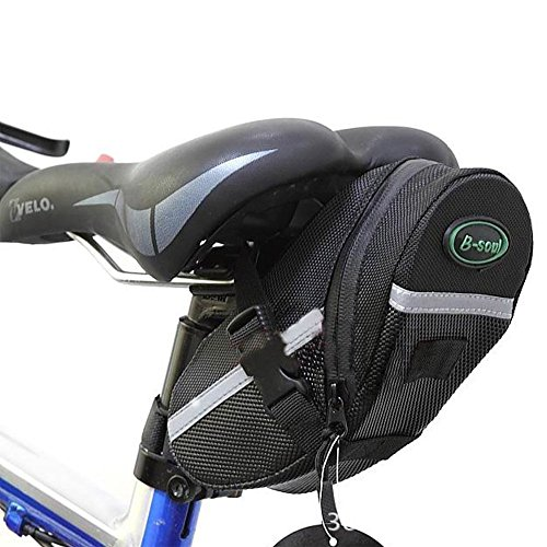 OuTera Bike Saddle Bag Bike Seat Bag Bicycle Seat Pack Cycling Seat Bag Bontrager Seat Pack Strap-on Bag for Your Spare Tube Tire Removal Wedges and Bontrager Torx Wrench Set[1 Year Warranty] (Cycling Bags compare prices)