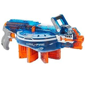 Nerf N-Strike Elite Hail-Fire Sonic Ice Series Blaster: Toys & Games