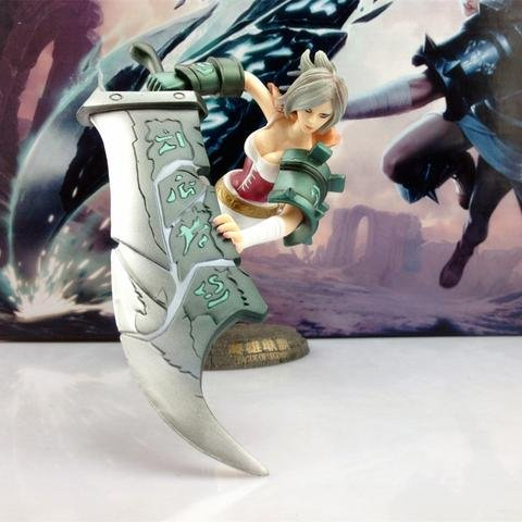 LOL League of Legends Action Figure Toy Collect Game Model - Riven