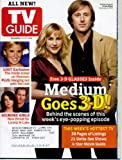 TV Guide November 21, 2005 Patricia Arquette & Jake Weber/Medium, Lost, Gilmore Girls, Faith Hill Interview, Nip/Tuck, Without A Trace, Johnny Cash