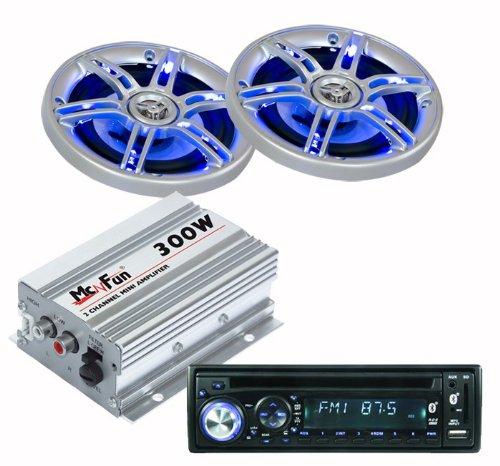 Auto Set Radio Endstufe LED-Lautsprecher CAR-313