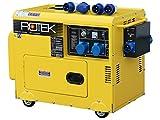 Rotek Diesel Stromerzeuger mit Notstart-Automatik...