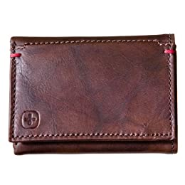Men's SwissGear Trifold Wallet - Brown : Target