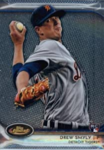 2012 Finest BB Card #34 Drew Smyly ROOKIE CARD Detroit Tigers