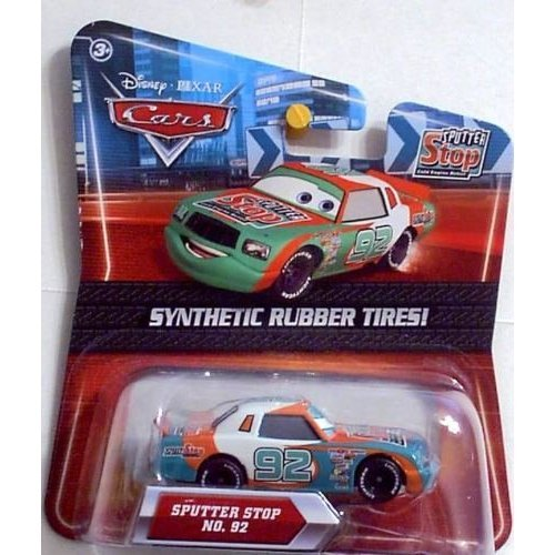 Disney Pixar Cars Exclusive Sputter Stop No.92 Diecast Car - 1