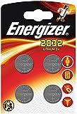 Energizer CR2032 Lithium 3 Volt Batteries, Pack of 4