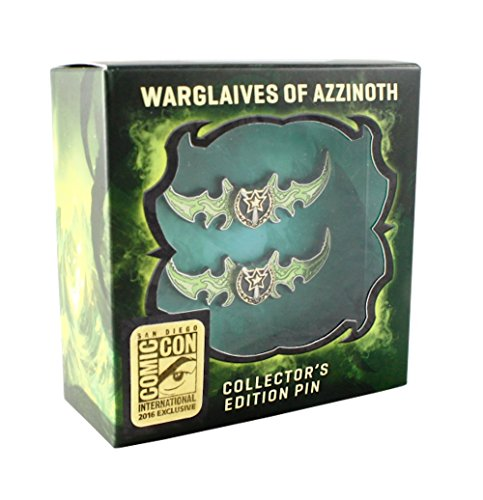 SDCC 2016 Legion Warglaives of Azzinoth Pins