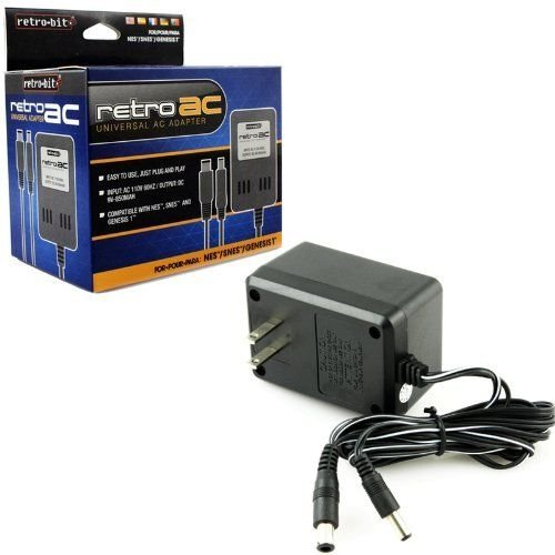 Retro Bit Universal 3 in 1 AC Adapter NES/SNES/GENESIS (Super Nintendo Power Adapter compare prices)