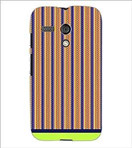PrintDhaba Pattern D-1725 Back Case Cover for MOTOROLA MOTO G (Multi-Coloured)