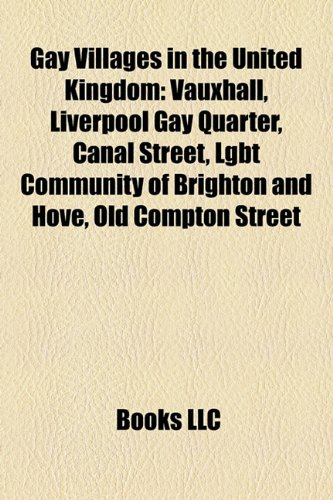 Gay Villages in the United Kingdom