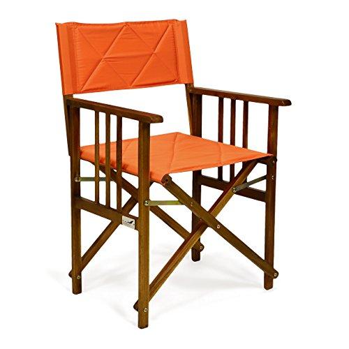 DIVERO-Regiestuhl-Klappstuhl-Faltstuhl-Holzstuhl-Gartenstuhl-klappbar-orange