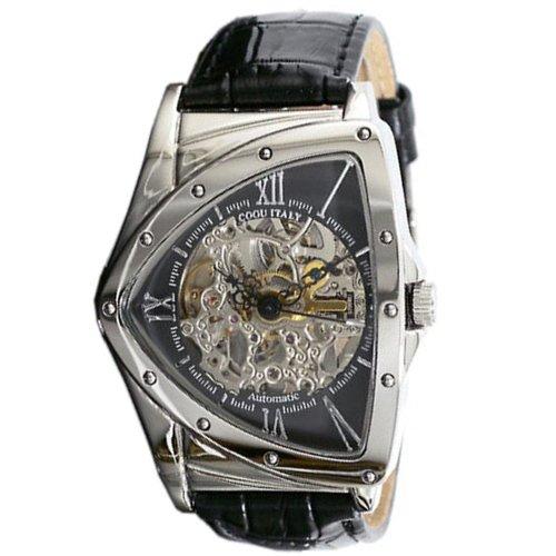 [コグ] COGU 腕時計 自動巻き スケルトン BS00T-BK メンズ [国内正規品]