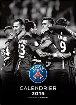 Calendrier mural psg 2015 collectif livres for Calendrier mural 2015
