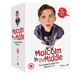 Malcolm In The Middle: The Complete Collection Box Set - Seasons 1-7 [DVD] [2000]