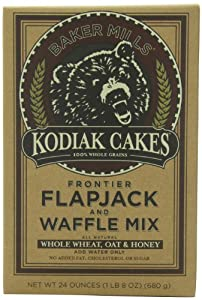 Kodiak Cakes Frontier Flapjack & Waffle Mix, 24-Ounce Boxes (Pack of 6)
