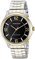 Armitron Men's 20/5076BKTT Two-Tone Expansion Band Watch