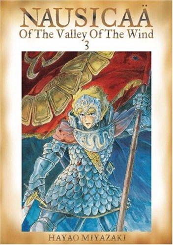 風の谷のナウシカ コミック3巻(英語版)