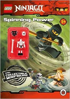 Lego Ninjago Spinning Power Activity Book With Minifigure Lego Ninjago With Minifigure