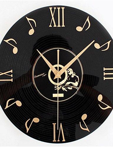 Da-Wu-Jia-Wand-Kunst-Musik-CD-aufzeichnen-Wanduhr