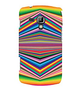 PrintVisa Illusion Art Pattern 3D Hard Polycarbonate Designer Back Case Cover for Samsung Galaxy S Duos S7562