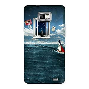 Ajay Enterprises The Window and Ship Back Case Cover for Galaxy S2