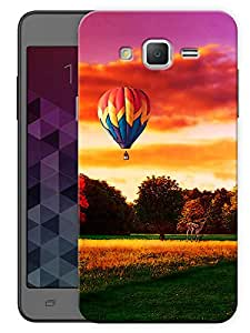 """Humor Gang Hot Air Balloon And Landscape Printed Designer Mobile Back Cover For """"Samsung Galaxy On7"""" (3D, Matte, Premium Quality Snap On Case)"""