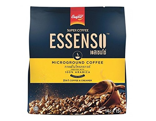 15 Sticks in Pack: Essenso, 2 in 1 Microground Coffee, 210 g (Tamper Mr Coffee compare prices)
