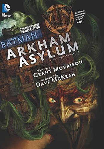 Batman Arkham Asylum 25th Anniversary Deluxe Edition HC by Dave McKean (Artist), Grant Morrison (Special Edition, 18 Nov 2014) Hardcover