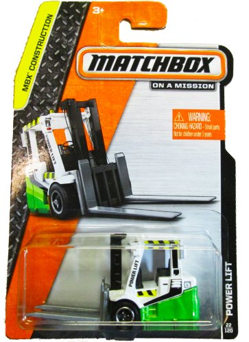 Matchbox on a Mission - MBX Construction 22/120 - Power Lift (Green/White) - 1