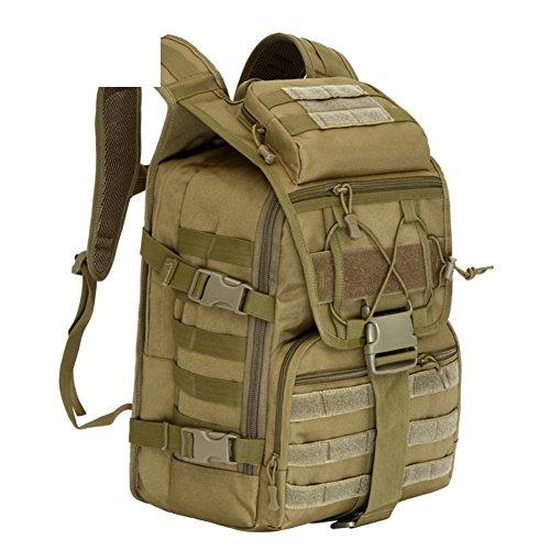 Camouflage sac à bandoulière / extérieur tactique sacs sac / alpinisme sac de voyage / sport-5 40L